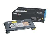C500H2YG LEXMARK C500 TONER YELLOW (120035440258)
