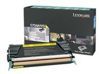 C736H1YG LEXMARK C736 TONER YELLOW