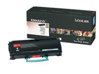 X264A21G LEXMARK X264 CARTRIDGE BLACK (120035440417)