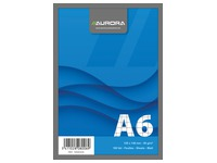 Notepad Aurora A6 105 x 148 mm 5 x 5 100 sheets