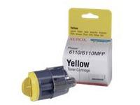 Xerox Phaser 6110 - geel - origineel - tonercartridge (106R01273)