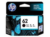 HP 62 - black - original - ink cartridge