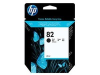 HP 82 - zwart - origineel - inktcartridge (CH565A)