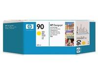 HP 90 - geel - origineel - inktcartridge (C5065A)
