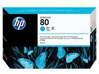 HP 80 - cyaan - origineel - inktcartridge (C4846A)