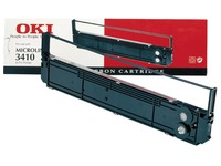 09002308 OKI ML3410 NYLON RIBBON BLACK