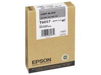 Epson T6057 - lichtzwart - origineel - inktcartridge (C13T605700)