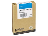 Epson T6052 - cyaan - origineel - inktcartridge (C13T605200)