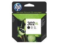 Cartridge HP 302XL hoge capaciteit zwart voor inkjetprinter
