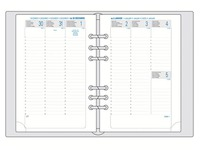 Navulling weekplanner 2018 Exatime 17 (ref Exatime 18272E)