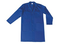 Men's work shirt, 100 % cotton, blue