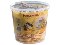 Box of 113 mini Toblerone 8g mix