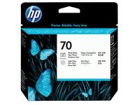 HP 70 - lichtgrijs, fotozwart - printkop (C9407A)