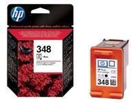 HP 348 - kleur (licht cyaan, licht magenta, zwart) - origineel - printcartridge (foto) (C9369EE)