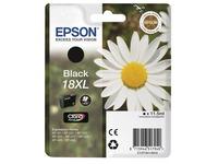 Epson 18XL - zwart - origineel - inktcartridge (C13T18114010)