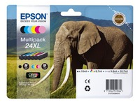 Epson 24XL pack cartridges 6 colours high capacity
