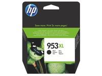 HP 953XL cartridge zwart hoge capaciteit voor inkjetprinter