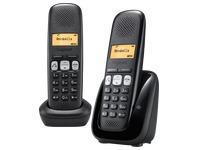 Pack Duo Telefoon Siemens Gigaset A250 - zwart