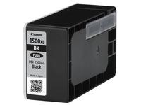 Canon PGI-1500XL BK - Hohe Ergiebigkeit - Schwarz - Original - Tintenbehälter