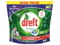 Box of 100 tablets for dishes Dreft Regular