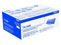 Brother TN3480 - hoog rendement - origineel - tonercartridge