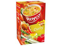 Karton mit 20 Beuteln Royco Minute Soup Curry