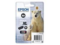 Epson 26XL - XL grootte - fotozwart - origineel - inktcartridge (C13T26314012)