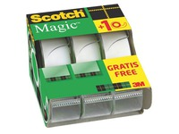 Pack 2+1 dévidoirs adhésif Scotch Magic