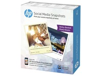 HP Social Media Snapshots - photo paper - 25 sheet(s)