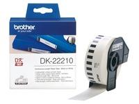 Brother DK-22210 - etiketten