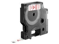 DYMO D1 - tape - 1 rol(len) - Rol (0,9 cm x 7 m)
