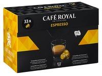 Capsule Café Royal Espresso - boîte de 33
