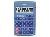 Calculator Casio small FX blue
