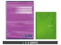 Pak 10 A4-schriften Calligraphe + 5 A5-schriften gratis