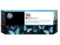 HP 745 - chroomrood - origineel - DesignJet - inktcartridge (F9K06A)