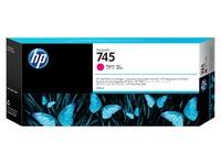 HP 745 - magenta - origineel - DesignJet - inktcartridge (F9K01A)
