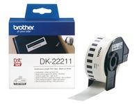 Brother DK-22211 - etiketten