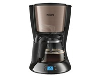 Philips Daily Collection HD7459 - coffee maker - copper metal