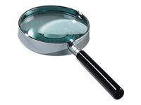 Leesloep diameter: 60 mm, vergroot 6 keer, in ophangdoosje