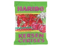 Haribo bonbons cerises, sachet de 200 g