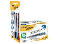 Velleda whiteboardmarker 1701 blauw, doos met 12 stuks + Liquid Ink whiteboardmarker, blister met 3 stuks