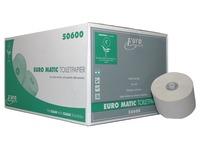 Europroducts toiletpapier met dop,  1-laags, 150 meter, eco, pak van 36 rollen