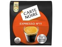 Kaffee Pads Carte Noire Espresso n°11 - Pack von 36