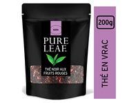 Schwarzer Tee rote Beeren Pure Leaf - Schachtel von 200 g