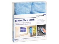 Micro fibre cloth for whiteboards and glassboards Legamaster - box of 2 pieces
