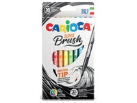Carioca penseelstift Super Brush, doos van 10 stuks in geassorteerde kleuren