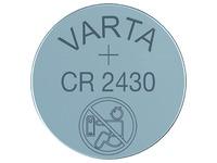 Pile bouton Varta CR2430 lithium blister de1 pièce