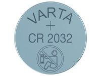 Pile bouton Varta CR2032 lithium blister de 5 pièces
