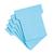 kaarten fiches steekkaarten blauwe T-fiches