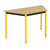 trapeziumvormig tafel